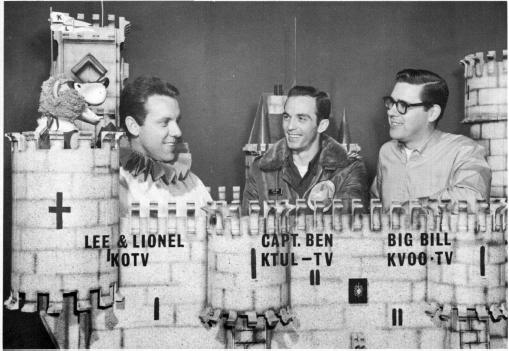 Lionel, Lee, Ben and Big Bill, courtesy of Bill Hyden