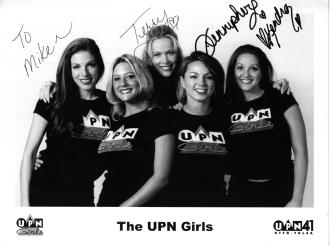 The 2001 Tulsa Channel 41 UPN Girls: Tarra, Katy, Terry, Jennipher and Kendra