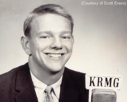 Jim Hartz at KRMG, courtesy of Scott Evans