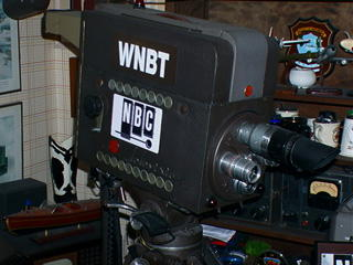 NBC camera, courtesy of Robert Jennings