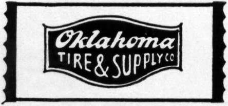 Oklahoma Tire and Supply (OTASCO) logo from 1951